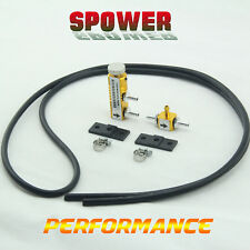 Universal Golden Adjustable Turbo Boost Controller Manual With Fitting Kits