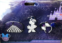 Disney Minnie Mouse The Main Attraction Space Mountain Pin Set LE January 2020