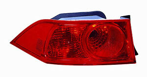 2006-2008  Acura TSX New Left/Driver Side Tail Light Unit