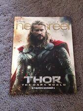 Disney Newsreel Thor The Dark World Vol 43 Issue 21 November 1, 2013 New