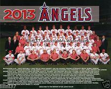2013 LOS ANGELES ANAHEIM CALIFORNIA ANGELS TEAM 8X10 PHOTO MIKE TROUT