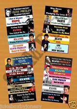 ELVIS PRESLEY Jukebox Title Strips Volume 5