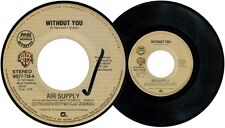 Philippines AIR SUPPLY Without You 45 rpm Record