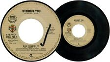 Philippines AIR SUPPLY Without You 45rpm Record