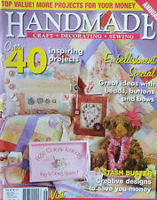 Handmade Magazine Vol 26 No 12 - Great Ideas With Beads Buttons and Bows