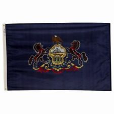 5x8 ft PENNSYLVANIA The Keystone State OFFICIAL FLAG Outdoor Nylon Made in USA