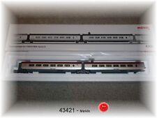 Märklin 43421 Set de wagons de complément 1 pour THALYS # Neuf Emballage Scellé