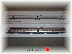 Märklin 43421 Ergänzungswagen-Set 1 zum Thalys #NEU OVP