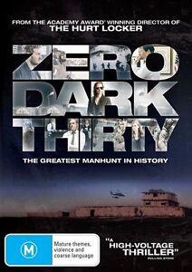 Zero Dark Thirty (DVD, 2013)