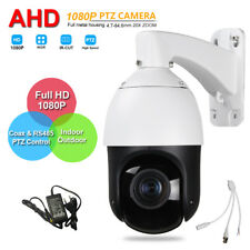 Security SONY323 AHD 1080P High Speed PTZ Camera 20X ZOOM IP66 IR 100M Coax PTZ
