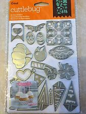 Cricut Cuttlebug Cut & Emboss Die Set - Holiday Sampler 2003468 NEW