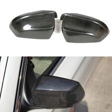 Fit For BMW F10 F11 530i 528i Carbon Fiber Door Side Mirror Cover Caps 2010-2013