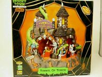 """Lemax Spooky Town """"Tunnel of Terror"""" w/Lights Animated Halloween Decor SEE VIDEO"""