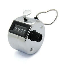 Mecánicas manuales Tally contador de número de clic Clicker de 4 dígitos contando Manual
