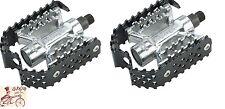 "ODYSSEY TRIPLE TRAP BLACK 9/16""  BMX BICYCLE PEDALS"