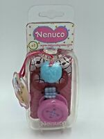 Nenuco Toy Baby Dolls Dummy Pacifier With Clip On Button Swirl Design Pink Blue