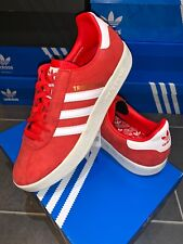 Adidas Trimm Trab UK 11 Eur 46 Red CW City Series Liverpool Edition Star Master