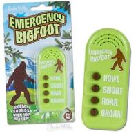 Electronic Emergency Bigfoot Noisemaker 4 Different Sounds!