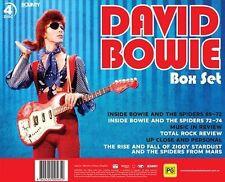 David Bowie (DVD, 2016, 4-Disc Set) * Perfect Gift Idea * BRAND NEW REGION 4