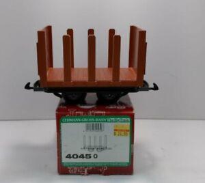 LGB 4045 Flatcar with Stakes LN/Box