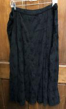 White Stag Black Pheasant Gypsy Skirt Plus 2X 18 20W Plus Cotton