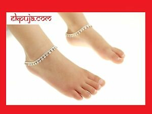 Diamonte Stunning Ankle Chain Indian Payal Bollywood Kids Anklet Single or Pair