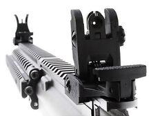 Black One Pair Folding Front & Rear Sight Set Flip-up 71L-F/R