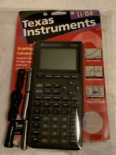 Texas Instruments TI-82 Graphing Calculator , Math Science & More New + Cables