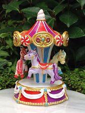 Miniature Dollhouse FAIRY GARDEN ~ Candy CARNIVAL Merry Go Round Carousel