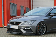 For Seat Leon 3 5F facelift R Front Bumper Lip Cup Skirt Chin Valance Splitter