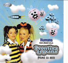 LEON Tina i Ivana CD Pesme za DECU Srbija Best Hit Serbia BAMBINO CHILDREN prolecna