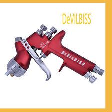 Devilbiss Hvlp Spray Gun Gfg Car Paint Guns 1.3Mm Nozzle 600Ml Pot Auto Air Tool