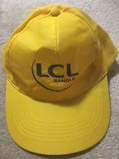 LCL Banque Credit Lyonnais Tour de France Yellow Jersey Maillot Jaune Hat