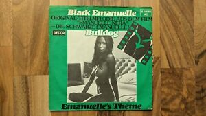 "Bulldog - Black Emanuelle OST - LAURA GEMSER - SEXY NUDE 7"" VINYL"