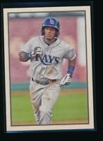 WANDER FRANCO 2019 Bowman HERITAGE Paper Tampa Bay Rays Rookie Card RC