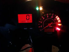 Triunfo rojo daytona 600 650 led tablero reloj conversión kit lightenUPgrade