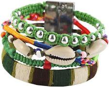 Modeschmuck-Armbänder aus Kunststoff und Metall-Legierung Perlen