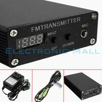 5W 87~109MHz BH1415F Stereo Digital Radio Station FM MP3 Wireless Transmitter