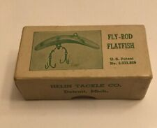 Vintage Helin F6 Fly Rod Flatfish Fishing Lure - Original Box and Booklet