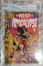 Rise of Apocalypse #1 CBCS ( like CGC) 9.6 History of Apocalypse HIGH GRADE!!!!!