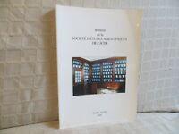 bulletin société d'études scientifiques de l'Aude Languedoc Tome XCVI 1996