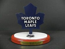 Toronto Maple Andreychuck 3d Team logotipo hockey ornament con base, NHL Hockey sobre hielo, nuevo