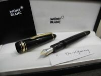 MONTBLANC LEGRAND 146 Meisterstuck 14K GOLD Nib M Fountain Pen FULL SET NEW