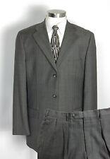 HAROLD POWELL Suit 42L Gray Glen Plaid - Wool & Cashmere- Pants W36 x L31 $995