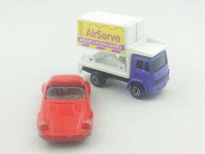 2 Maisto Toy Vehicle Car Porsche 911 Speedster Speed Wheels AirServe Lift Truck