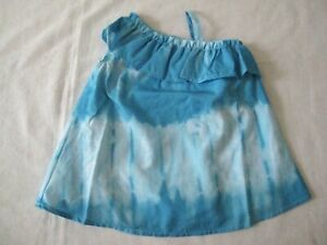 The Children's Place TCP 3-6 months Blue Tie Dye Dress Diaper Cover New