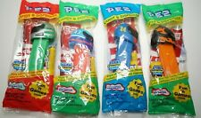 NASCAR Lot of 4 PEZ Candy Dispensers #24 #43 Race Helmets Collectibles