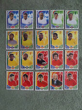 20 Match Attax - International Players - All Different - Ex. Condition - Lot 8
