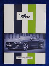 Wolf Racing-tuning Ford C-MAX FIESTA FOCUS KUGA MONDEO Mustang PROSPEKT 2017