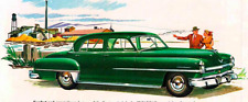 1951-1952  Chrysler 4 Door Sedan Complete Weatherstrip Kit!